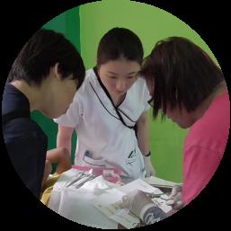 海外の医療現場に興味があり、実際の医療現場を体験したい人