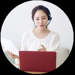 HLCAのオンライン医療英会話は、以下のような利用シーンを想定しています。